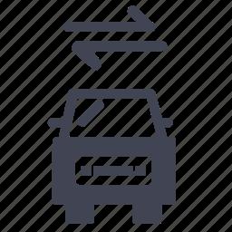 automobile, car, exchange, transport, transportation, vehicle icon