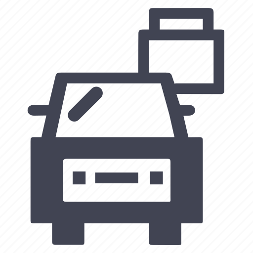 car, locked, transport, transportation, vehicle icon