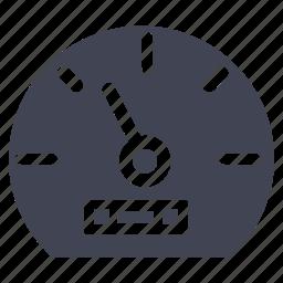 car, dashboard, gauge, meter, speed, speedometer icon
