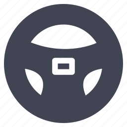 car, steering, transportation, vehicle, wheel icon