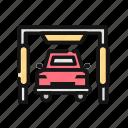 auto, automobile, car, clean, transport, vehicle, wash icon