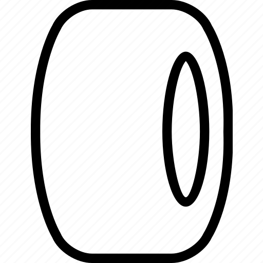 automobile, car, rubber, tire, vehicle, wheel icon