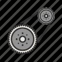 automotive, car, engine, flywheel, plate, power, steel