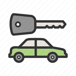 alarm, auto, car, keys, lock, remote, security icon