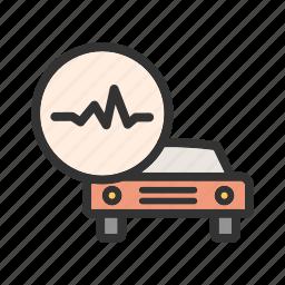 automobile, belts, car, clutch, engine, fluid, repair icon