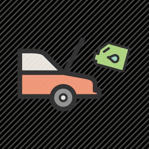 can, car, fuel, gallon, motor, oil, plastic icon