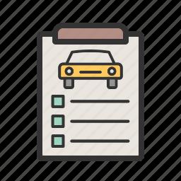 brake, car, checklist, checkup, lights, mechanic, vehicle icon