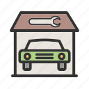 car, soap, sponge, vehicle, wash, washing, water icon