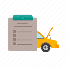 car, check, garage, inspection, mechanic, service, vehicle icon