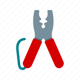 cutter, cutters, equipment, metal, tool, wire, work icon