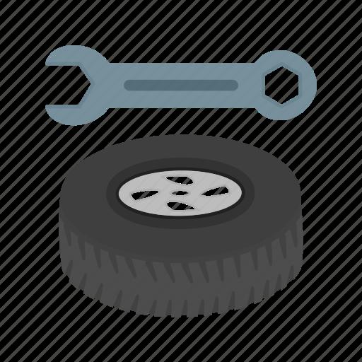 alloy, car, repair, service, tool, tyre, wheel icon