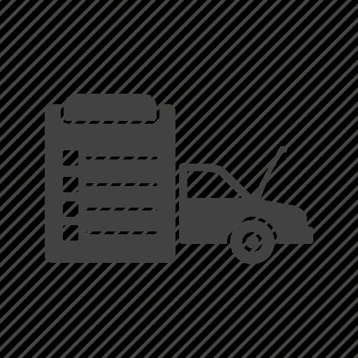 car, check, garage, inspection, mechanic, service, vehicle icon