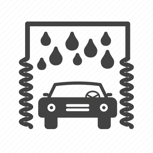 car, soap, sponge, vehicle, wash, washing, water icon