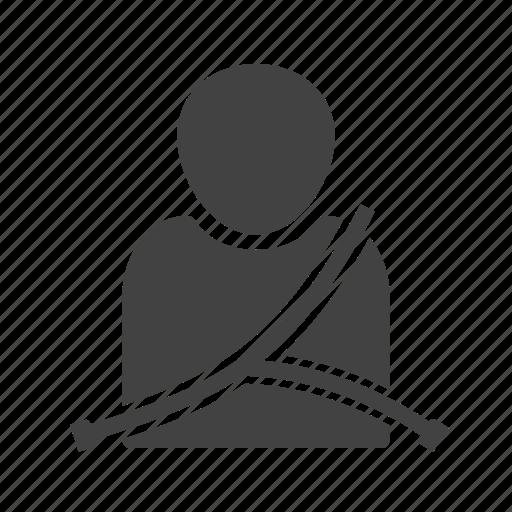 belt, car, kids, passenger, safety, seat, seatbelt icon