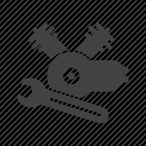 Car Servicing II Glyph\' by IconBaandar Team