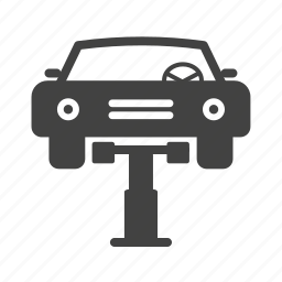 automotive, car, cars, industry, jack, lift, mechanic icon