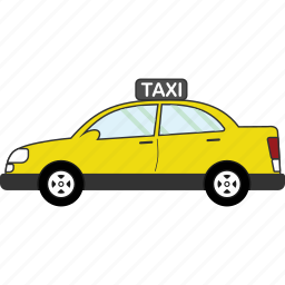 car, taxi, transport, transportation, vehicle icon