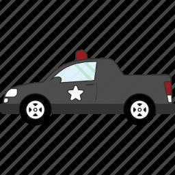 car, police, transport, transportation, vehicle icon
