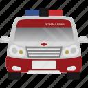 ambulance, car, transport, transportation, vehicle icon