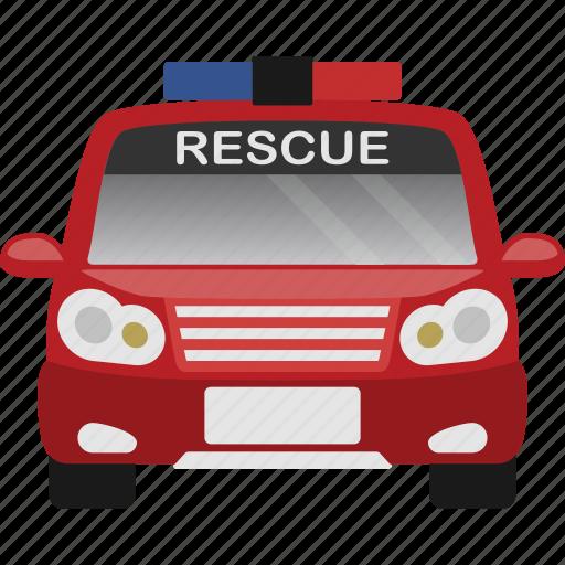 car, rescue, transport, transportation, vehicle icon