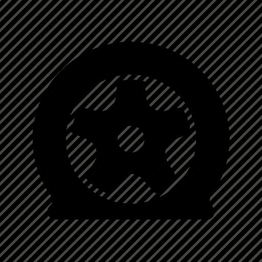 auto, automobile, car, damage wheel, garage, servicing, vehicle icon