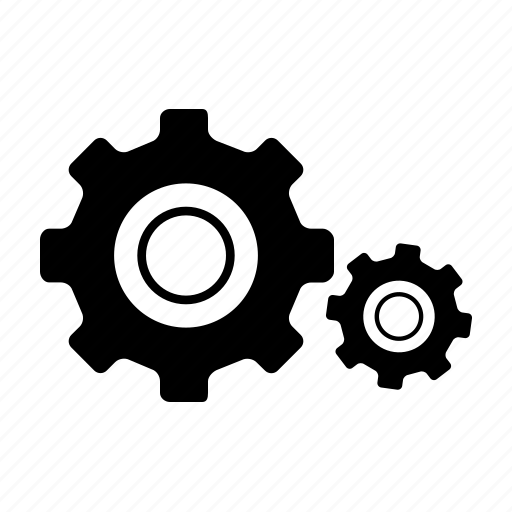 auto, automobile, car, garage, gears, servicing, vehicle icon