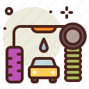 automatic, car, clean, vehicle, wash icon