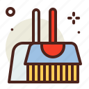 brush, clean, vehicle icon