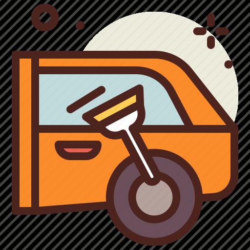 car, clean, vehicle, windows icon