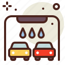car, clean, multiple, vehicle, wash icon