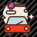 clean, polish, vehicle icon