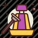 clean, vacuum, vehicle icon