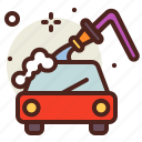 clean, soap, vehicle, water icon