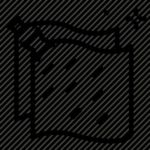 clean, microfiber, vehicle icon