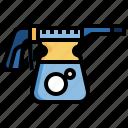 foam, gun, clean, carwash, car