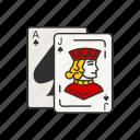 card, card game, games, jack, jack card, jack of spades, knave icon