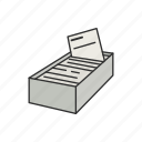 game, cards, card on box, card game, card pick, card against humanity, card deck icon