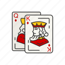 ace, ace and jack, black jack, card deck, card games, cards, game icon