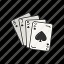 card, card deck, card game, game, high spade cards, poker, spades icon