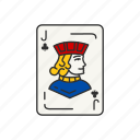 card, card deck, card games, clubs, games, jack, jack of clubs icon