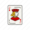 games, diamond, card games, card, jack, card deck, jack of diamond icon