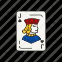 card games, cards, deck game, jack, jack of spade, spades icon