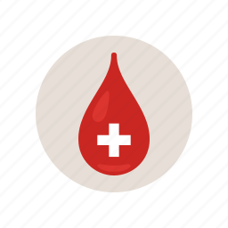 blood, drip, experiment, positive, research, test, type icon