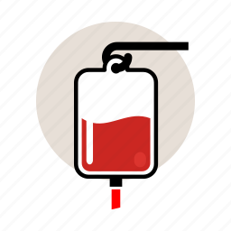 blood, emergency, er, hospital, iv, medicine, transfusion icon