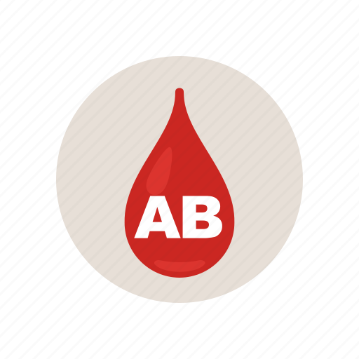ab, blood, drip, health, lab, medical, type icon