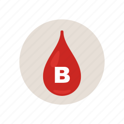 b, blood, drip, drop, health, hospital, type icon