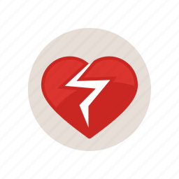 attack, broken, disease, health, heart, love, romantic icon