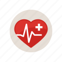 arritmia, health, healthcare, healthy, heart, high, rate icon