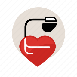arrhythmias, arritmia, health, heart, medical, pacemaker, tachycardia icon