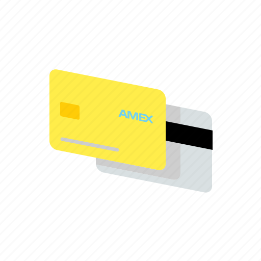 amex, bank, card, payment icon